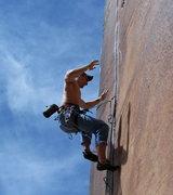 Rock Climbing Photo: falling