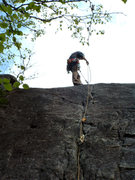 Rock Climbing Photo: Playing hooky from work at Murrin Park
