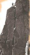 Rock Climbing Photo: 1897 FA O.G.Jones . Kern Knotts Crack 5.7+
