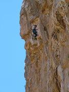 Rock Climbing Photo: Ryan James takes flight.