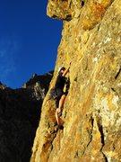 Rock Climbing Photo: matt doing his thang