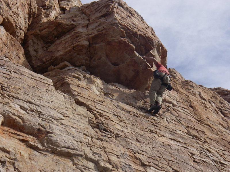 Rock Climbing Photo: Tamo