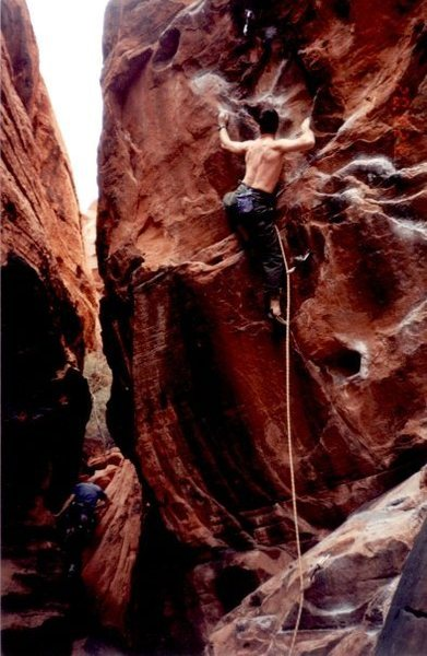 Rock Climbing Photo: Rebel Without a Pause