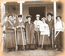 The Climbers of yesterday. Ladies Scottish Climbing Club 1909