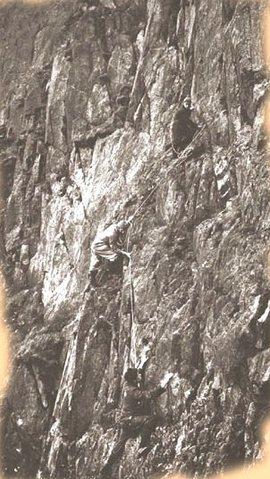 1883. When climbers were bold