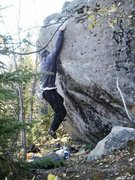 Rock Climbing Photo: Jorge Vesser sending Darth Mal