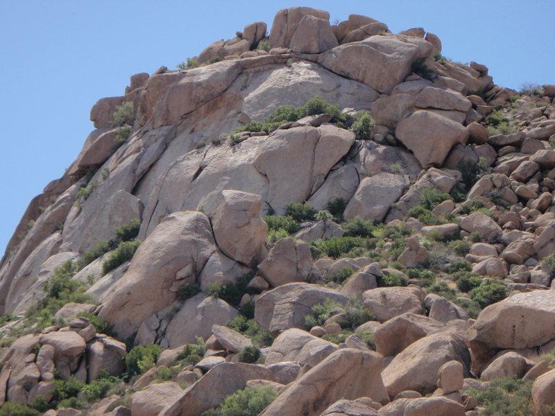 Rock Climbing Photo: Morrell Wall, McDowell's