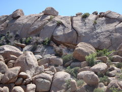 Rock Climbing Photo: Crack wall just south of Glass Dome... Anyone know...
