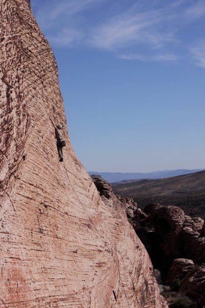 White Tigers 5.10b, Red Rocks NV