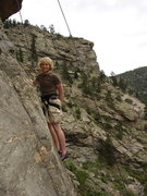 Rock Climbing Photo: This is in CO, can't remember where exactly.