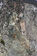 Rock Climbing Photo: Follow the rope to see the approximate line. Where...