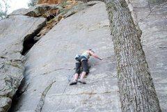 """Rock Climbing Photo: Start of """"Bolts"""""""