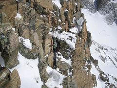 Rock Climbing Photo: Enjoying some exposure.