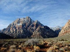 Rock Climbing Photo: Mt Wilson in Jan