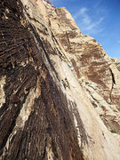 Rock Climbing Photo: early season run-off