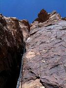 Rock Climbing Photo: Jason on P2