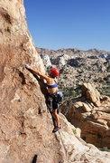 Rock Climbing Photo: Lisa Pritchett leading Gandy