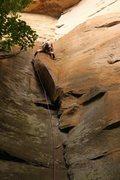 Rock Climbing Photo: Cruising Autumn in August