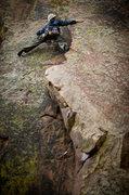 Rock Climbing Photo: Tim on Pool of Blood