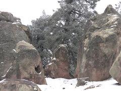 Rock Climbing Photo: Right next to a campsite