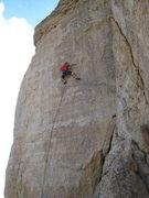 Rock Climbing Photo: Above the main difficulties on Camel Jockey.