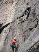 Rock Climbing Photo: Climbing at the owl