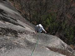 Rock Climbing Photo: Zach on Zig-Zag 5.9