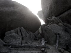 Rock Climbing Photo: Old campsite off the beaten path - I love stumblin...