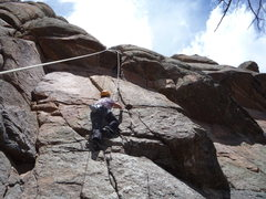 Rock Climbing Photo: Fiendishly good climbing.