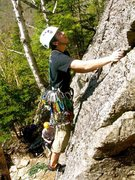 Rock Climbing Photo: (standard Route) square ledge on the sharp end Doa...