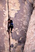 Rock Climbing Photo: Lisa Pritchett leading Alice in Wonderjam