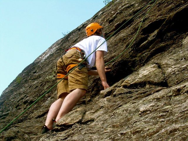 Rock Climbing Photo: climbin