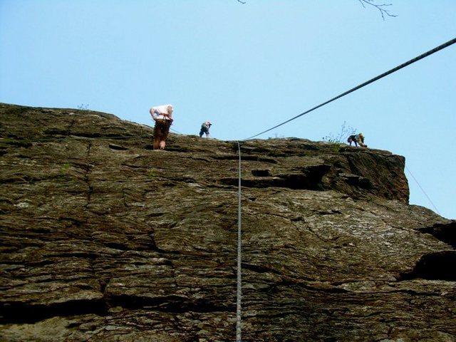 Rock Climbing Photo: far