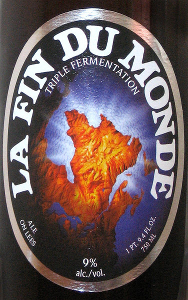 La Fin Du Monde. Try it!<br> Photo by Blitzo.