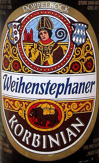 Korbinian. Wonderful wheat beer from the world's oldest brewery.<br> Photo by Blitzo.<br>