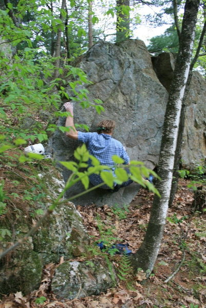 Rock Climbing Photo: Hittin the arete.