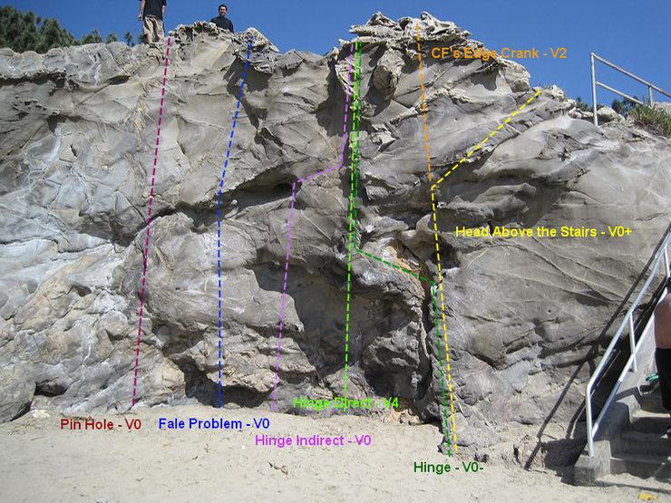Rock Climbing Photo: Pin Hole