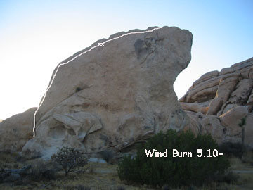 Windburn@SEMICOLON@ get an early ascent.