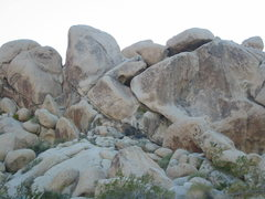 Rock Climbing Photo: Celine goes up the left edge of the tallest format...