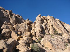 Rock Climbing Photo: Weo ascends the buttress in the center of this pic...