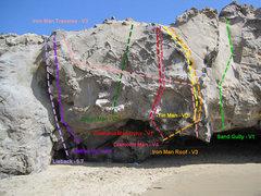 Rock Climbing Photo: Diamond Man