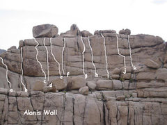 Rock Climbing Photo: Alanis.