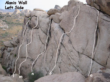Rock Climbing Photo: Alanis (left side)