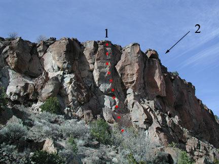 Rock Climbing Photo: Rope Burn in Hell