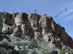 Rock Climbing Photo: Rope Burn in Hell