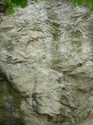 Rock Climbing Photo: The center of Tündér Tömb.