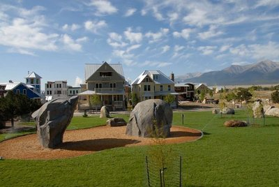 The Boulder Garden Consists Of Two Boulders. Designer Ian Glas Based The  One On The