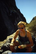 Rock Climbing Photo: Double exposed at the Two Boulder Bivy. From a &qu...