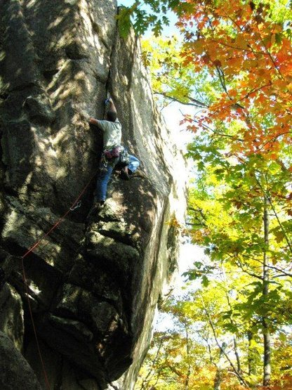 Rock Climbing Photo: Fern Crack 5.11+