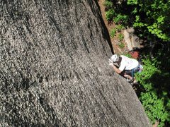 Rock Climbing Photo: Climbing in WV  Sex on the beach 5.11A